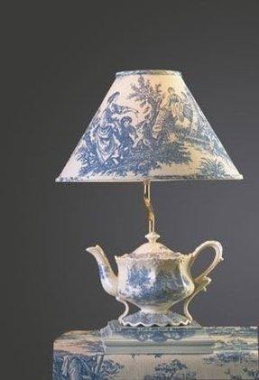 Toile Lamp Shade Foter