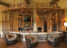 Curved Home Bar - Foter