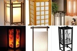 Japanese Lantern Table Lamp
