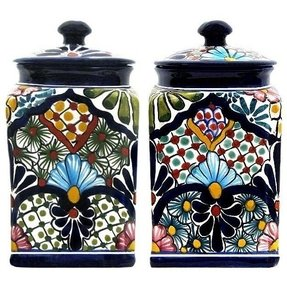 Kitchen canisters ceramic 4