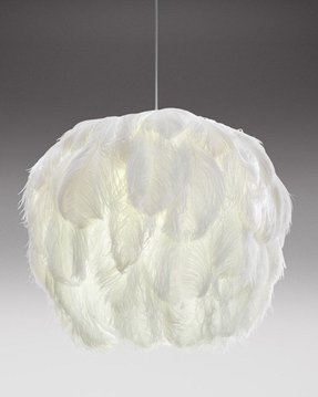 Feather lamp shades foter lamp shades with feathers 1 aloadofball Image collections