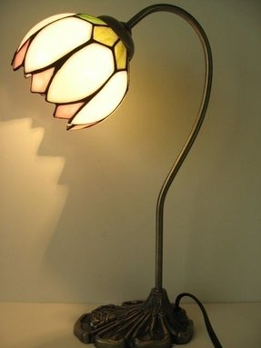 Table Lamp Lighting Stained Glass