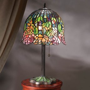 Lotus Tiffany Table Lamp Foter