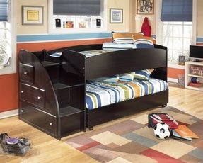 Low rise bunk beds