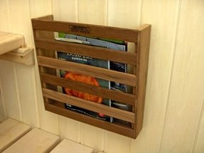 Magazine holder diy