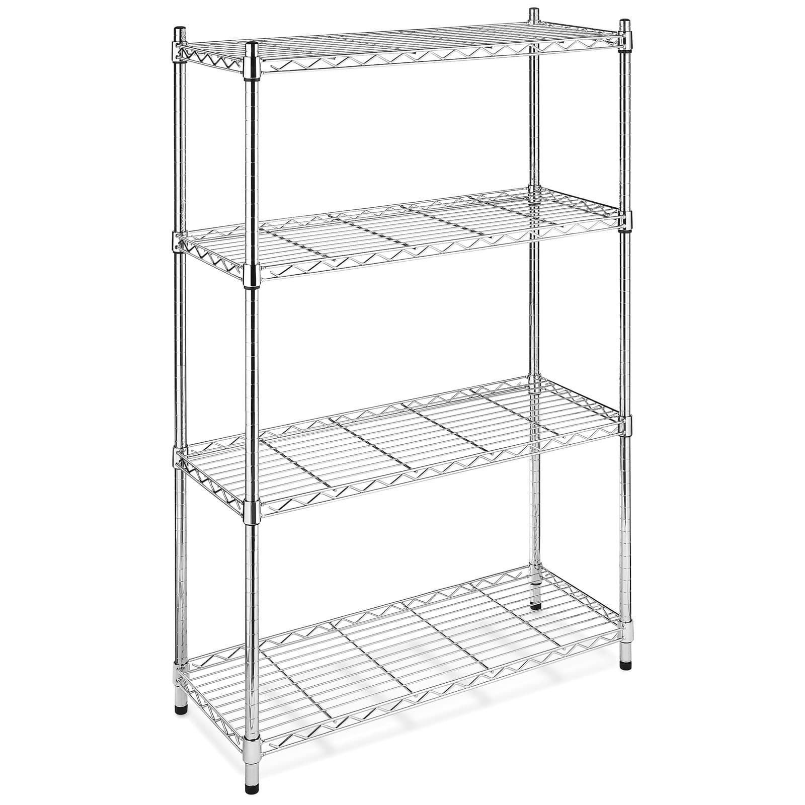 Awesome Black Iron Bakers Rack Circa 1900 Brown And Grey Caged Single Shelving