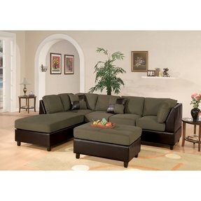 Fabulous Microfiber Sectional Sofa With Ottoman Ideas On Foter Gmtry Best Dining Table And Chair Ideas Images Gmtryco
