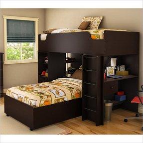 L Shaped Loft Bunk Beds Ideas On Foter