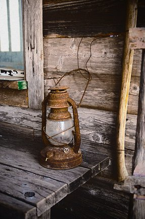 Old fashioned lanterns
