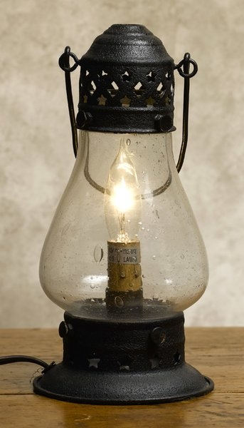 Old fashioned oil lamp 10