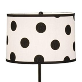 Polka dot lamp shades foter polka dot lamp shade 4 aloadofball