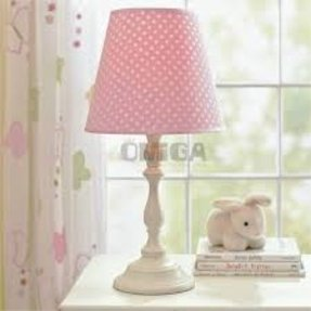 Polka dot lamp shades foter polka dot lamp shade aloadofball Choice Image