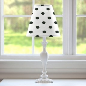 Polka dot lamp shades 1