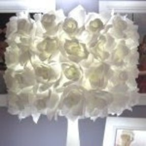 Rose lamp shade foter rose lamp shade 1 aloadofball Images