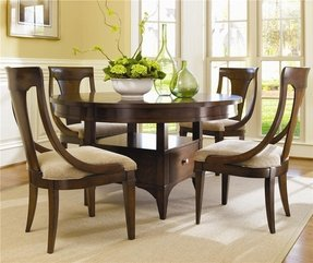 Round dining room sets with leaf 18