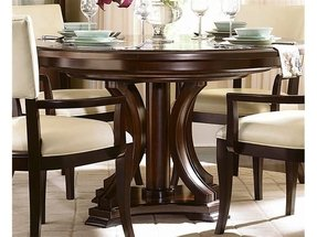 Round Dining Room Sets With Leaf - Foter