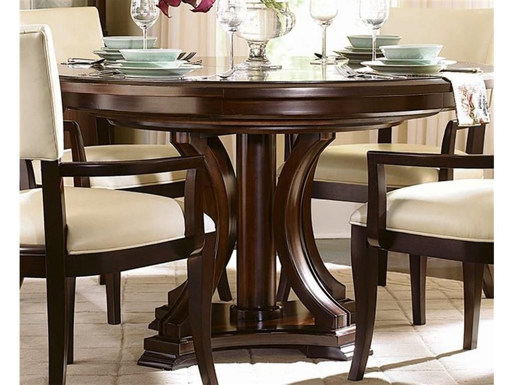 Attrayant Round Dining Room Sets With Leaf 4