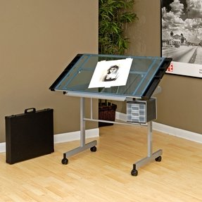Small Desk With Wheels Foter