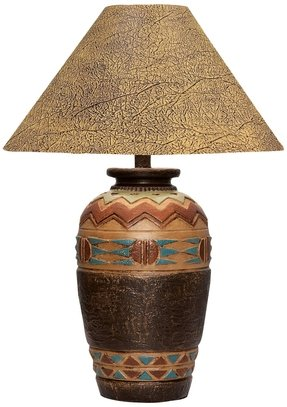 Southwestern table lamp foter southwestern table lamp 2 aloadofball Choice Image