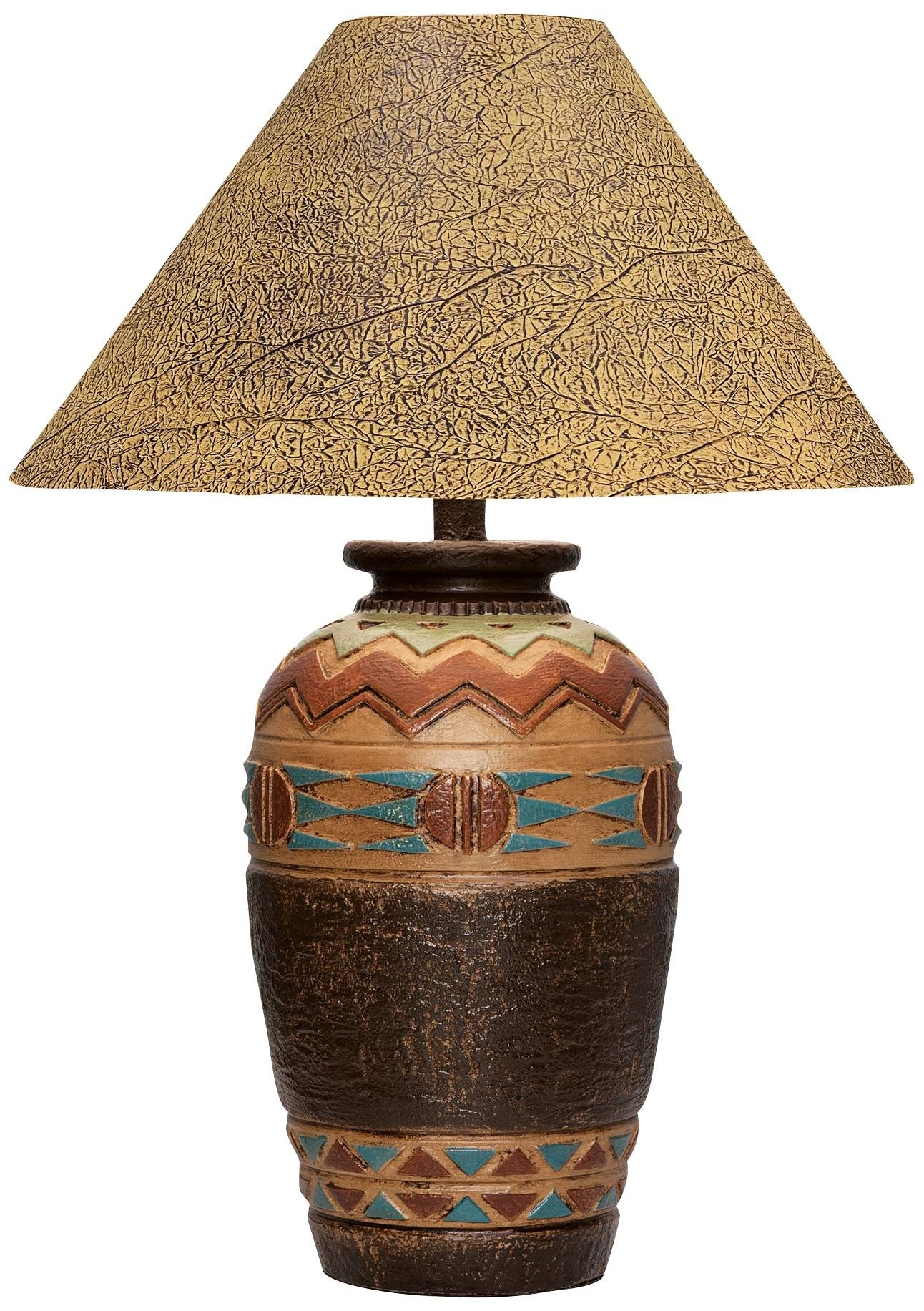 Delightful Southwestern Table Lamp 2