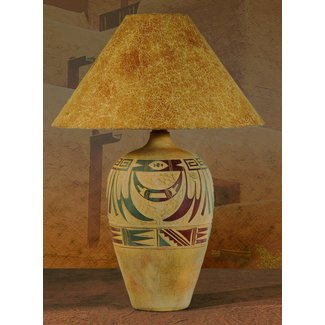 Southwestern table lamp 3