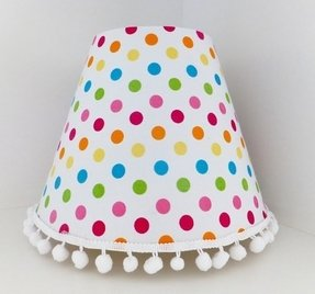 Spotty lampshade
