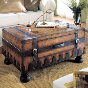 Wood Storage Trunk Coffee Table Ideas On Foter