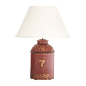 Tea caddy lamp 40