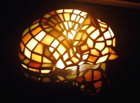 Tiffany Cat Lamp Foter