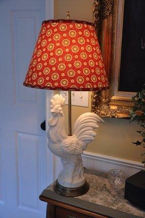 Toile lamp shade foter toile lamp shade 24 aloadofball Choice Image