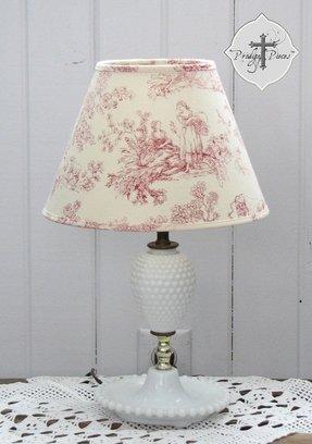 Toile lamp shade foter toile lamp shade 7 aloadofball Gallery