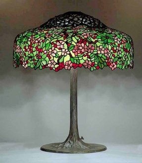 Tree lamp base