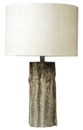 Tree trunk lamp base 18