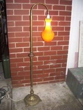 Antique Solid Brass Floor Lamp Foter