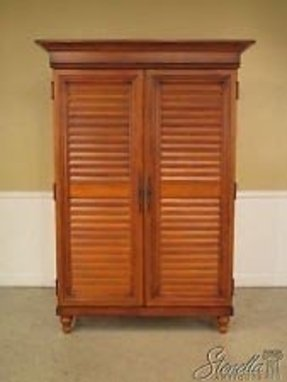 24756 Lexington Tommy Bahama Louvered Door Tv Armoire