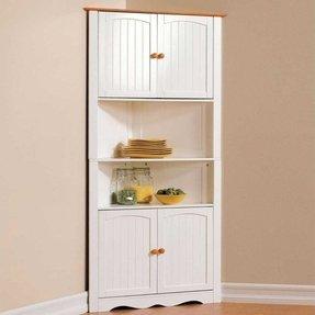 corner cabinet with doors - foter