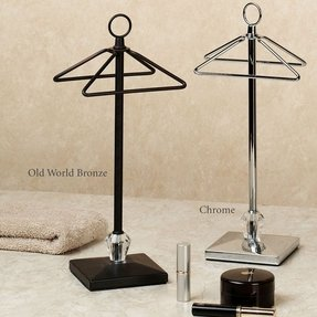 countertop towel stand. Home Crystal Countertop Fingertip Towel Holder Stand W