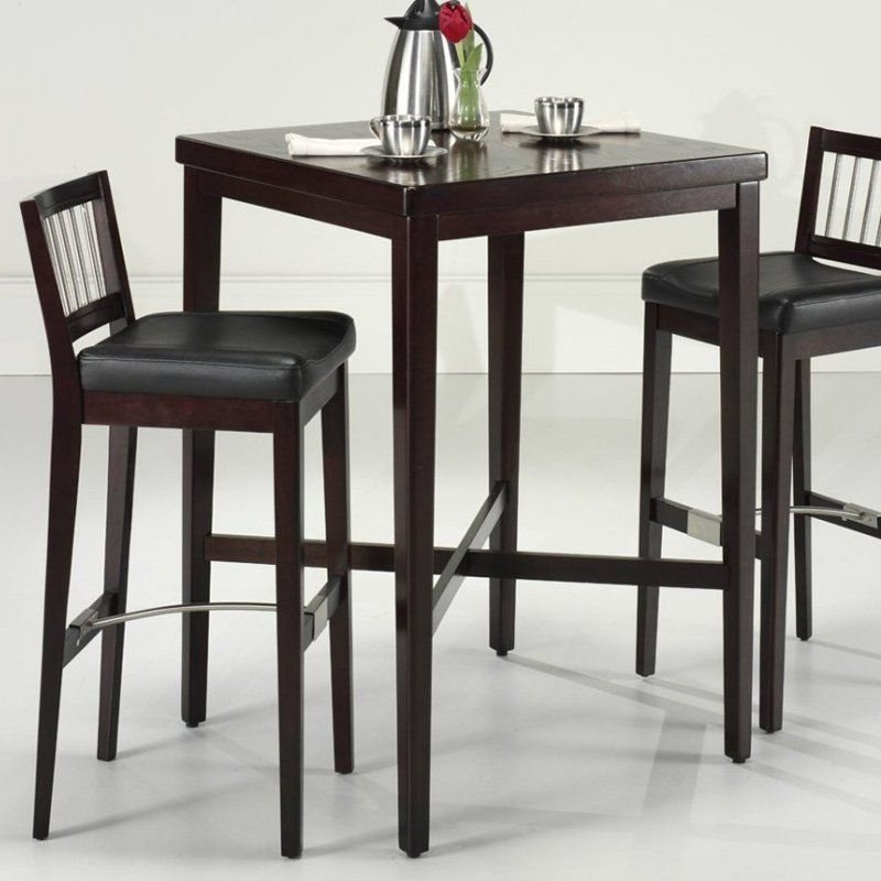 Delicieux Home Styles Pub Table Dark Cherry 2