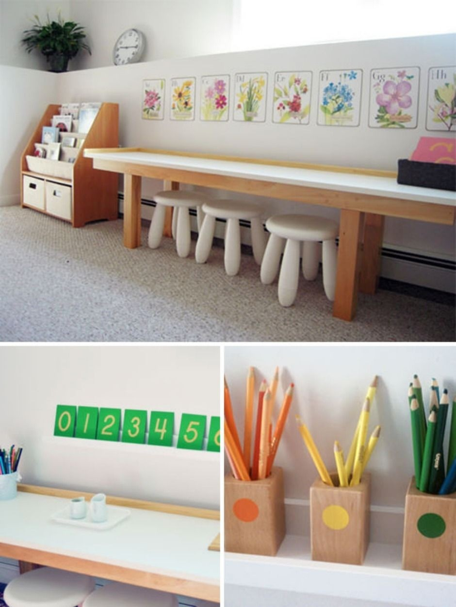 Superb Kids Craft Table Plans