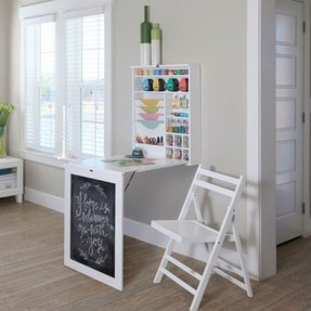 Kids Craft Table With Storage