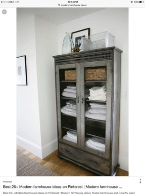 Linen Cabinet Metal Galvanized