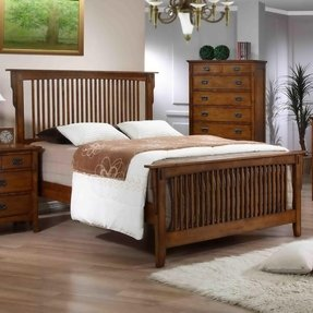 Mission style headboard king foter for Queen mission style bedroom set