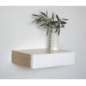 Floating Shelves With Drawer Ideas On