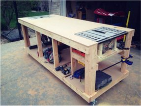 Portable Work Benches - Foter