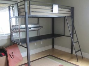 Powell Loft Bed With Desk Ideas On Foter