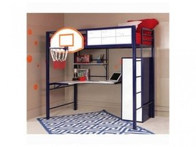 Powell Loft Bed With Desk Foter