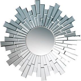 Round sunburst mirror 18