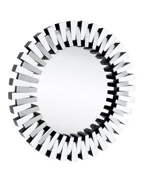 Round sunburst mirror 20