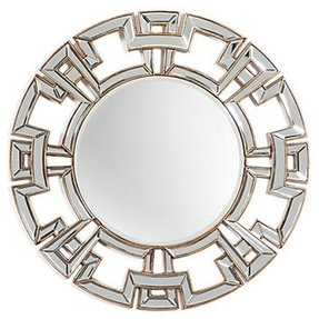 Round sunburst mirror 4