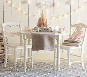 Round table and chairs for kids 6